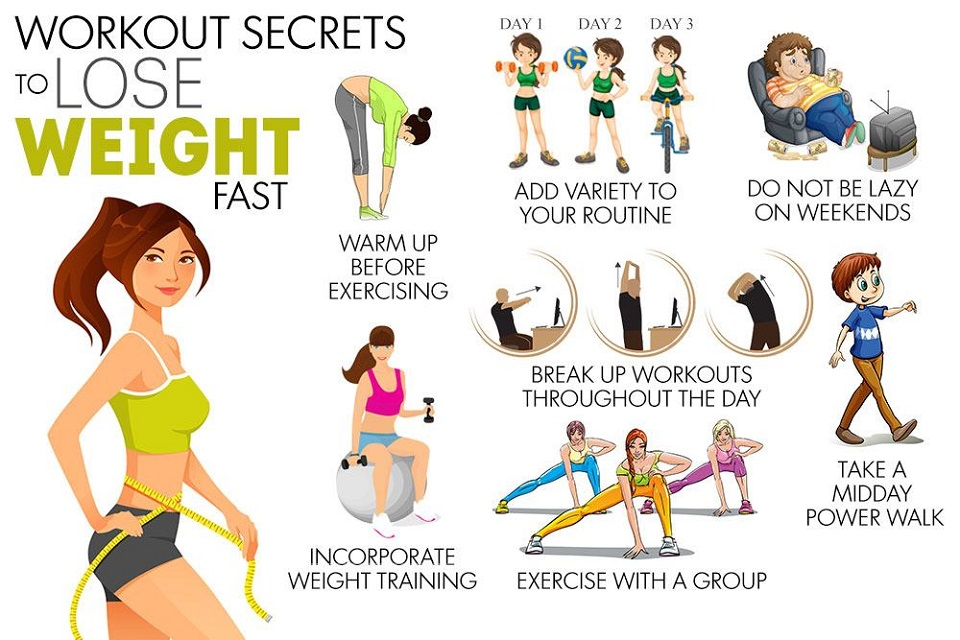 Fastest Way to Lose Weight Safely - Workout