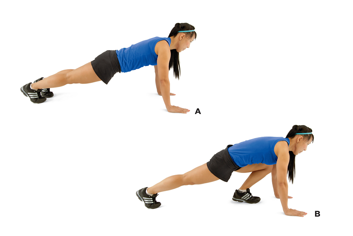 How to Lose Weight Fast – Push Up and Lunge
