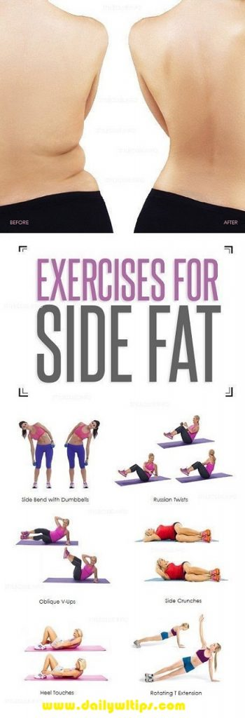 Best Exercises for Side Fat Burning