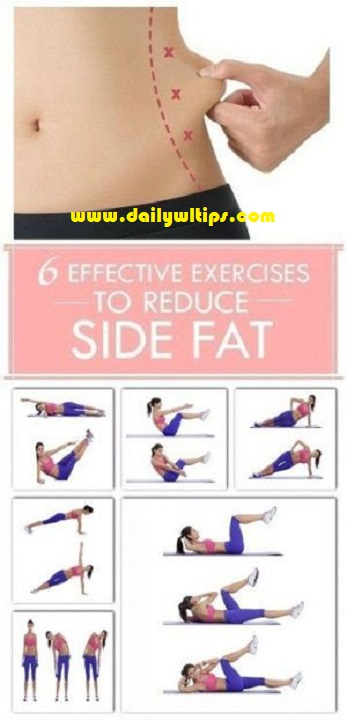 Best Exercises for Side Fat Burning Easy