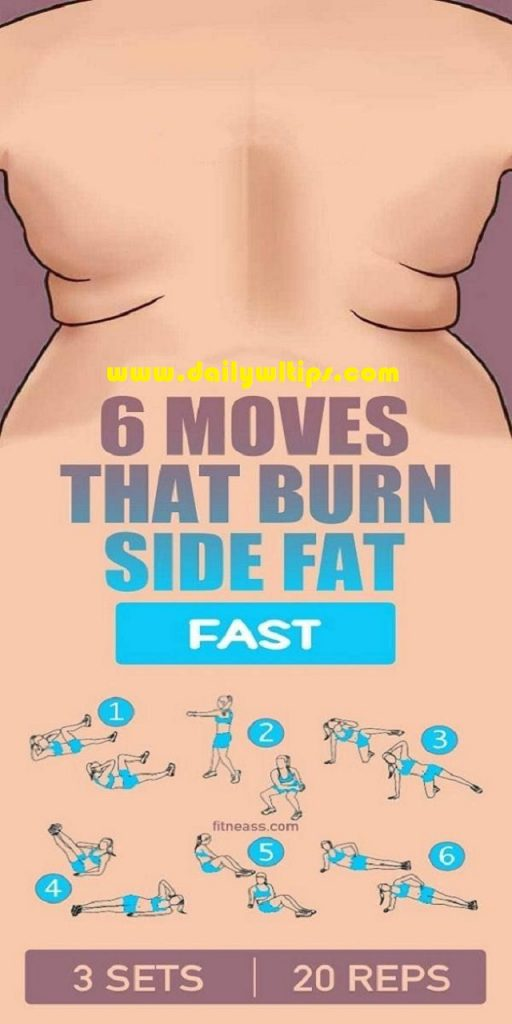 Best Exercises for Side Fat Burning Fast