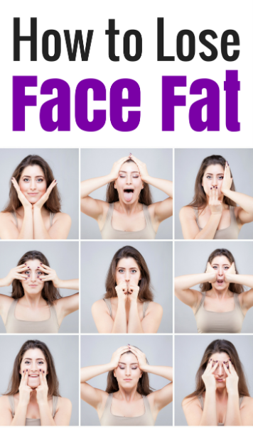 How to Lose Face Fat quickly