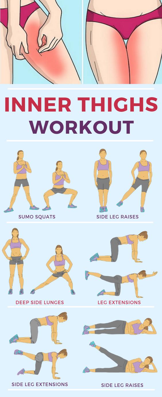 Inner Thigh Exercises for Women Fast