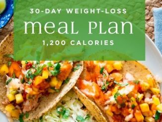 Weight Loss Plans for Women Meals